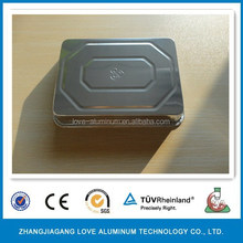 High Quality Food Grade Hot Sale Recyclable Airline Aluminum Food Tray