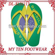 Brazil Cool Men Flip Flop 2012 Hot Sell