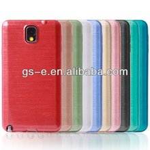 Luxury TPU Brushed Case For 4G 5G S3 S4 Note2 Note3 TPU mobile phone case