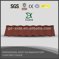New Building Material / Stone Coated Metal Roof Tile Sheet