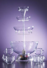 party cocktail fountain/plastic party fountain/fairy fountain