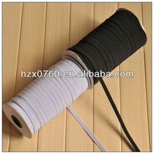 Knitted thin elastic band for brief
