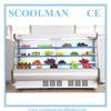 Upright Open Fruit Display Supermarket Showcase