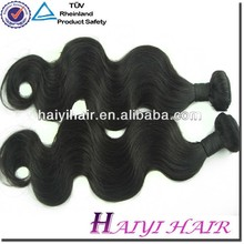 Brazilian Human Hair model model virgin hair for weaving