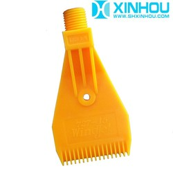 Industrial cleaning and cooling plastic wind ABS air jet nozzle
