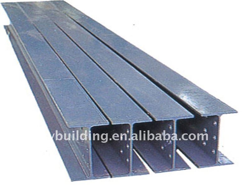 Galvanizado arco H beam para la construcción