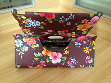 Rotating Universal Leather flower tablet Case Folio Cover For iPad (Brown)