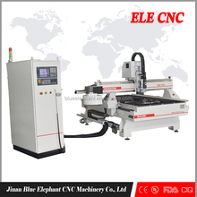 ELE 1325 Factory supply 10 tools affordable linear atc cnc router for Wooden Door