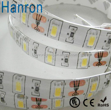 Ip65 colla epossidica impermeabile 12v 60led/m smd5630 flessibile striscia di luce a led strisce