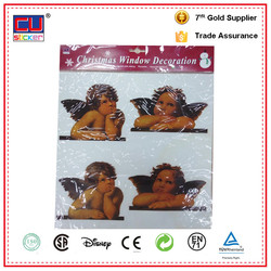 Lovely Angel Removable Transparent PVC Window Static Cling Decals