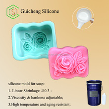 RTV-2 silicone rubber for soap mold making