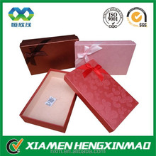 Special paper gift packaging paperboard box/gift packaging box with ribbon/gift box special paper