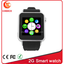 Fashion appearance 2g smart cheapest wrist watch phone with counting calories s69