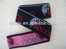 Jacquard eco friendly underwear elastic tape