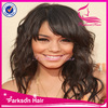 Best selling products 100% human hair popular style high density top quality fashional purple lace front wig