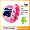 Personal using gps MTK6515 bluetooth Android GPS mp3 watch