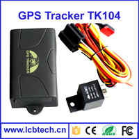 Hot sale!!car/vehicle GPS tracker GPS104 TK104 standby 60days Car GPS tracking device