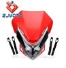 Street Fighter Head Light Fairing For Dirtbike Motorcycle led headlight Naked Street Bike Motocross RED