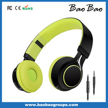 Good foldable sound design stereo headphone high frequencY for iPhone iPod Samsung PC