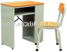 High Quality MDFDesk & Chair Popular School Sets Single Desk & Chair