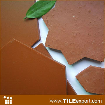 arcilla terracota azulejos de piso