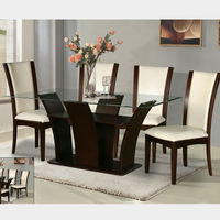 High quality wooden dinner table