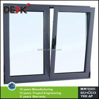 Powder coating aluminium tilt and turn window factory