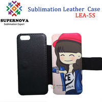 Sublimation Pouch Leather Case for iPhone 5 5s