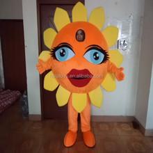 Hola yellow sun flower fancy dress costumes