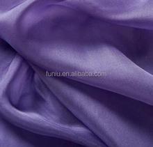 100% Silk Chiffon Fabric in Natural Serial Pattern