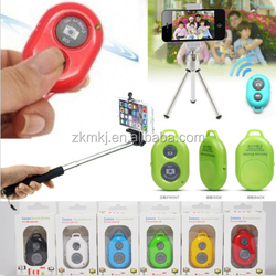Hot mobile accessories monopod stick and Bluetooth remote shutter