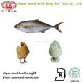 Péptidos de colágeno en polvo/marina pura 100% hydrolyzefish de colágeno en polvo/de pollo en polvo de colágeno tipo 2/suplementos de colágeno
