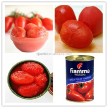 High quality and best price canned Whole peeled tomato in Natural Tomato Juice