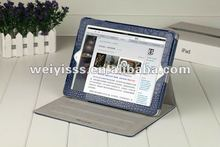 hot selling croco leather tablet PC case