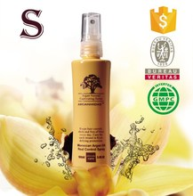 Hot sale professional organic olive oil hair spray