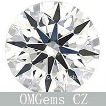 white color Cubic Zirconia beads gemstone,best quality 8 heart & 8 arrow cut Cubic Zirconia gemstone