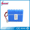 Medical Devices battery pack 12V 5000mah 3S2P 18650 rechargeable Li-ion Battery Packs