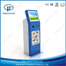 self service cash/note payment terminal/kiosk with 80mm thermal printer