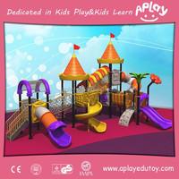 Amusement Park Kids Natural Outdoor Play Equipment
