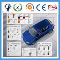 Auto bulb 12v 1.2w T5