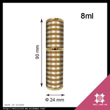 2016 New products elegant design camel hair light tan check 8ml purse spray