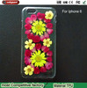 Girl Soft Cozy Dried flowers tpu case for apple iphone6 case for ip 6