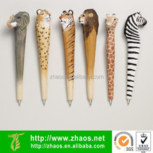 wood animal pen | wood pen blanks sale | cheap decorative pens