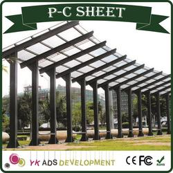 Polycarbonate resin high quality at factory prices light transmission reach 18% -82% certification ISO9001:2008