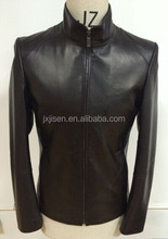 fashion men Leather Jacket / Genuine Leather Jacket / Sheepskin Leather Jacket