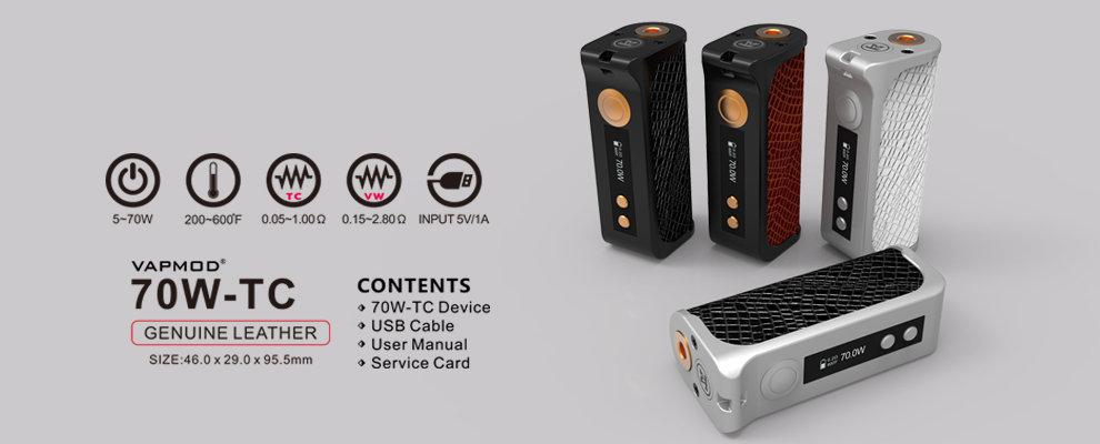 pax vaporizer 2015 in stock vapmod by sunzip tc 70w box mod genuine leather box mod tc 70w electronic cigarette vape mod