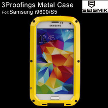 Waterproof Aluminum Phone Case for Samsung Galaxy s5 Case