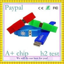 high quality hot selling sports 4gb bracelet usb disk drive