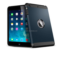 2015 New hot selling high quality Armor metal Rugged TPU+PC Shockproof case For ipad air 2
