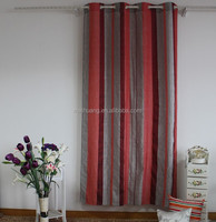 striped sheer horizontal cheap curtain for sale